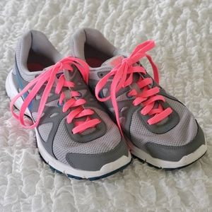 Nike Revolution 2 gray pink sneakers size …